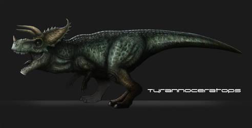 Tyrannoceratops by drmambo199