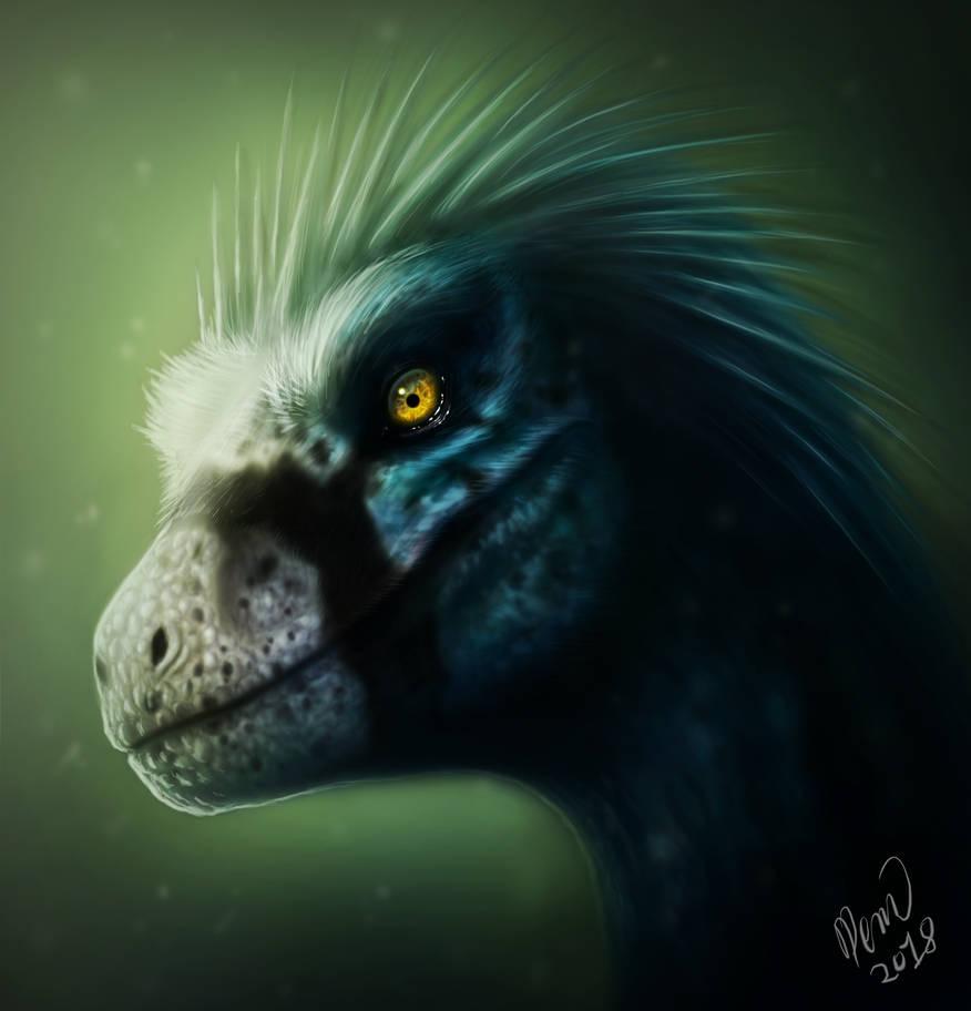 Velociraptor Beasts of Bermuda by drmambo199