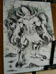 #nephilim #Commission #INK by E-Blake