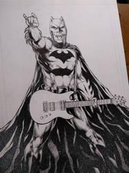 #batman #rock #commission by E-Blake