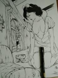 Snow White SEXY by E-Blake