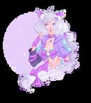 Commission for Moonlitpetal by Aranren