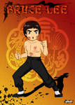 Bruce Lee The Dragon by NuggetSangriento