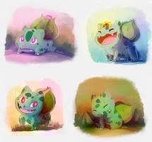 Bulbasaur time by mudkip-chan