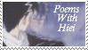 YYHA Stamp- Poems with Hiei by loveanime