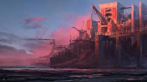 Fishing Castle by alben