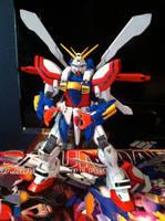 GF13-017NJII MG God Gundam by JetForceGemini360