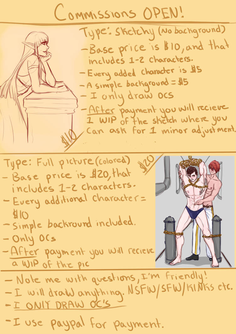 Commission Info Sheet by Marmotap