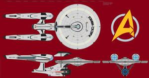 USS Avenger / Constitution-class (Final) 1.0 by arvistaljik