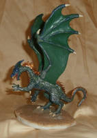 Dragon Figurine by paintingbyjackie