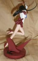 Sailor Mars Figurine from Sailor Moon - Back by paintingbyjackie