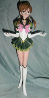 Sailor Jupiter Figurine from Sailor Moon by paintingbyjackie