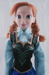 Anna Doll from Disney's Frozen by paintingbyjackie
