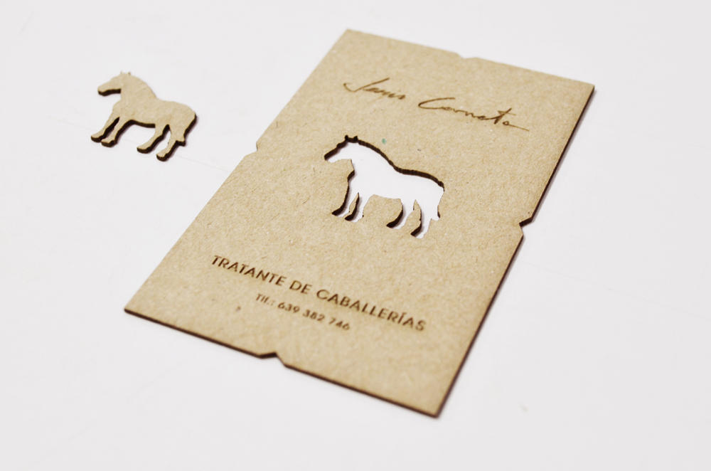 Business card by Laserlab21