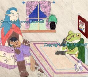 Chrono's house by MaguschildCloud