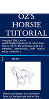 Digital Horse Tutorial by TheGreatandMightyOz