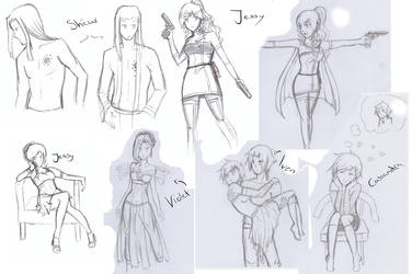 sketchdump by Sally78