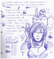 Mass Effect doodles by Sally78