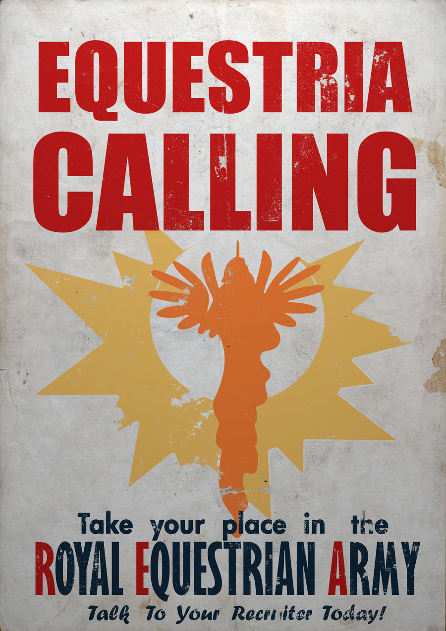 Equestria Calling by BTedge116