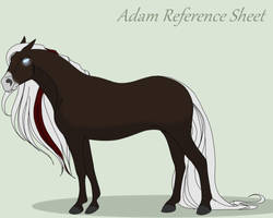 Adam l False God l Reference Sheet by Dragonnym