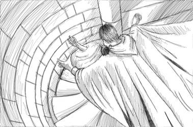 Shadowgate Version 1 - Sketch by King-of-Deltora