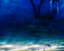 Deep Sea Background by angellella-stock