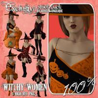 CU OK Witchy Women by angellella-stock