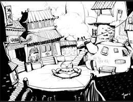 China Town by fantasyant