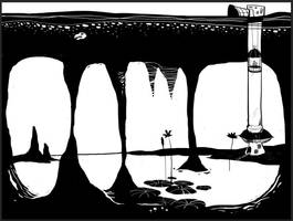 Underground Swamp by fantasyant