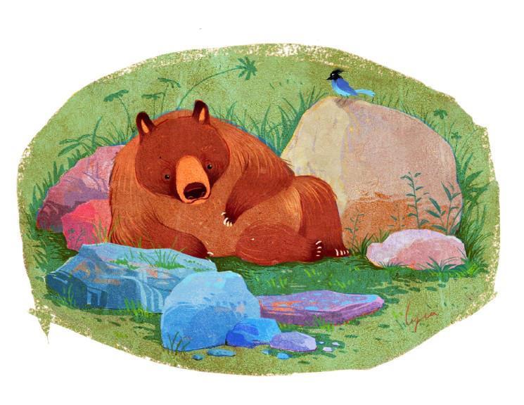 Bear by fantasyant