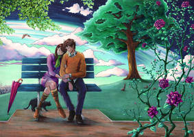 Lovers' Night by firedaemon