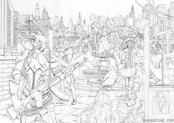 Apocalypse Lineart by firedaemon