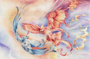 Phoenix by firedaemon