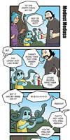 Modest Medusa Vacation Comics part 3 by JakeRichmond