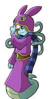 Modest Medusa as Ravio by JakeRichmond