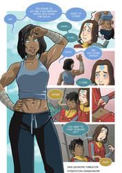 Asami loves Korra: Workout, part 2 by JakeRichmond