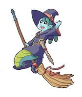 Modest Witch Academia by JakeRichmond