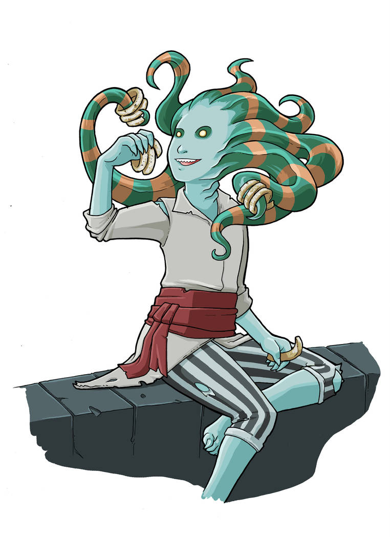 Young Vraska by JakeRichmond