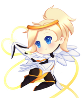 [Chibi] Mercy by Maririnn