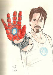 Tony Stark by Turock-X