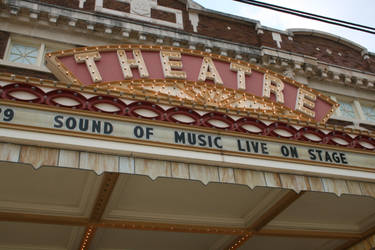 Theatre Sign Stock by coldstock