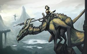Dragon Rider by VirtualNinjas