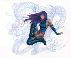 Psylocke by LIZA-BIGGers