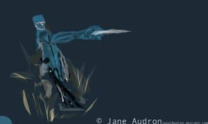 Al.chemy: Cyb Ninja Concept by Jane2Audron