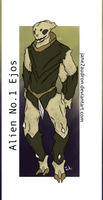 Alien No.1: Ejos by Jane2Audron