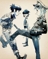 Gorillaz in 'The Times' by GoRiLlAz6666