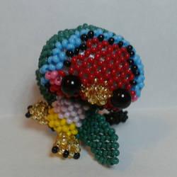 Gouldian finch by Baran9606