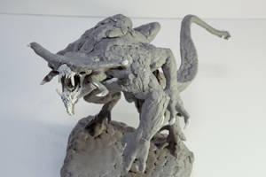 Xenotaur (Goliath) Sculpt 5 by ScottFlanders
