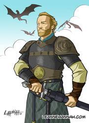 Jorah Mormont by stratosmacca