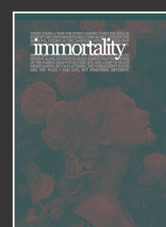 Immortality by LittlemissTutu